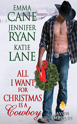 All I Want for Christmas is a Cowboy book cover image